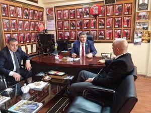 Milletvekili Ilıcalı Ve Başsavcı Bingül'den, Türkiye Harp Malulü Gaziler, Şehit Dul Ve Yetimleri Derneği'ne Ziyaret