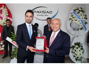 Başkan Yaşar, PAKSİAD'ın merkez ofis açılışına katıldı