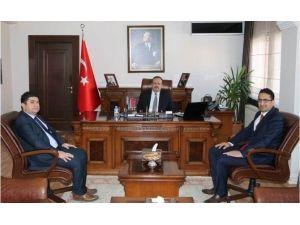 Ankara Yıldırım Beyazıt Üniversitesi Öğretim Üyesi Sambur'dan Vali Canbolat'a Ziyaret