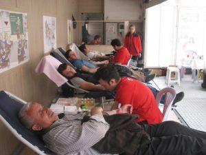Kelesliler Kan Bağışladı