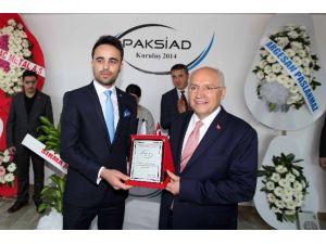 Yaşar, Paksiad'ın Merkez Açılışına Katıldı