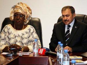 Orman ve Su İşleri Bakanı Eroğlu Senegal'de