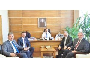 Mehmet Özhaseki'ye Ziyaretçi Akını