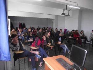 Mezun Olduğu Okulda Konferans Verdi