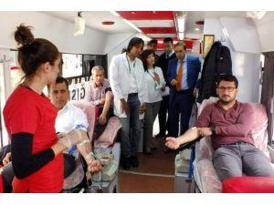 Serik'te Kızılay Kan Bağışı Kampanyası