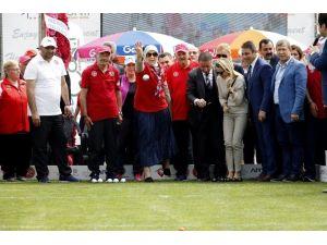 Bakan Ramazanoğlu, Gönüllü İzci Oldu Ve Bocce Oynadı