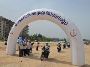 Motosiklet Sevdalıları Kansere Dikkat Çekti