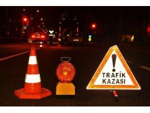 Bozdoğan'da Trafik Kazası; 1'i Ağır 3 Yaralı