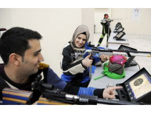 İşitme Engelli Çiftin Hedefi Olimpiyat