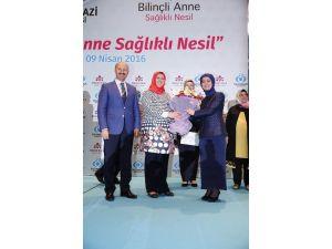 """Sare Davutoğlu: """"Anneler Sağlıklı Toplumun Temelidir"""""""
