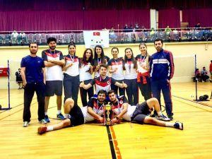 Badminton turnuvasında Kırşehir takımı şampiyon oldu