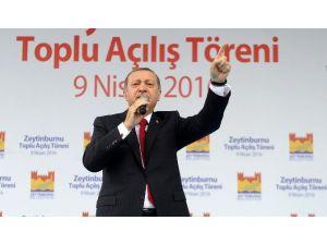"""Cumhurbaşkanı Erdoğan: """"HA PKK, HA Pyd, HA DHKP-C Fark Yok"""""""