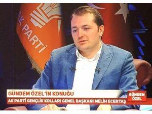 AK Parti Gençlik Kolları Genel Başkanı Melih Ecertaş Erzurum'da…