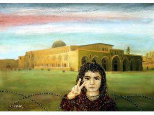 Çakıl Taşlarıyla Resim Sanatından Barışa Çağrı