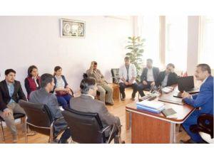 Besni'de TEOG Sınavı Öncesi Öğrencilere Moral Verildi