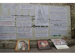 30 Yıllık Sanatçıdan Duvar Yazılı Tepki