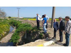 Teski Genel Müdürü Başa, Hayrabolu Yağmur Suyu İnşaatı Çalışmalarını İnceledi