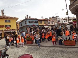 İstanbullu Minikler Odunpazarı'nda
