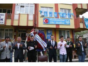 Ülkü Ocakları Afyonkarahisar Temsilciliği Yeni Binasında Hizmete Girdi
