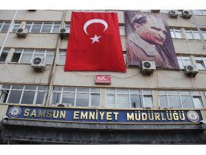 Samsun'da Terör Operasyonunda 5 Kişi Gözaltına Alındı