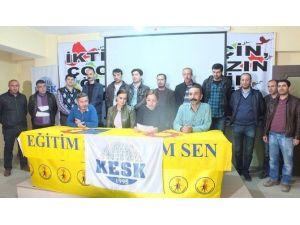 KESK Ankara Katliamı İçin Anma Programı Düzenledi