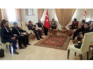 Siber, Sankon Genel Başkanı Atasoy'u Kabul Etti