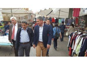Keşan'ın Duyarlı Yöneticileri Esnafı Ve Halkı Mutlu Ediyor