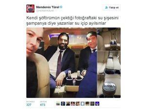 Başkan Türel'den 'Makam Aracında Şampanya Şişesi' İddialarına Fotoğraflı Cevap