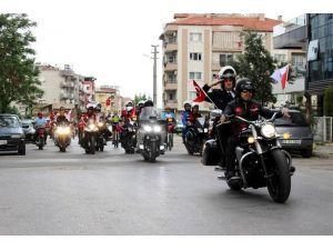 Motorculardan Teröre Ortak Tepki