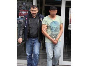 Cep Telefonu Gasbından Tutuklandı