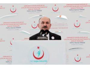 """Bakan Müezzinoğlu: """"Türkiye 2018 Yılı Sonu İtibariyle 95 Bin Yatak Kapasiteli Hastanelere Ulaşacak"""""""