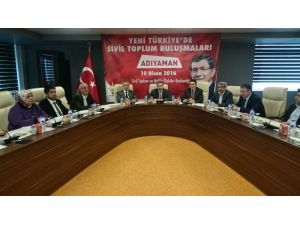 Yeni Türkiye'de Sivil Toplum Buluşmaları Toplantısı Yapıldı
