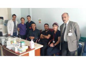 Başkale'de İlk Kapalı Kasık Fıtığı Ameliyatı