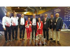 Halterciler Avrupa şampiyonasına 4 madalya ile başladı