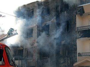 Eskişehir'de doğalgaz borusunda patlama