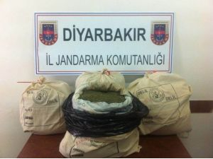 Diyarbakır'da 93 Kilogram Esrar Ele Geçirildi