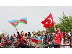 Bartın'dan Azerbaycan'a Destek