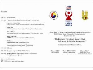 Türkiye'nin Kadın Gücü Edirne'de Buluşuyor