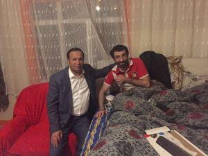 Başkan Toltar'dan Hasta Ziyareti