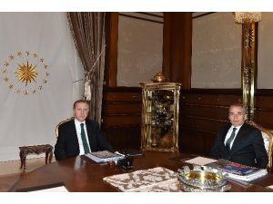 Cumhurbaşkanı Erdoğan, Başkan Zolan'ı Kabul Etti