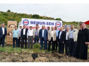 "Adana Mehmet Akif İnan Ormanı'nda ""Fidan Dikim"" Töreni"