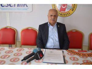 Malatya Kantin İşletmecileri Esnaf Derneği Yönetim Kurulu Başkanı Hüseyin Peker: