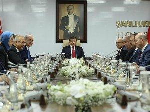 Bakanlar Kurulu Şanlıurfa'da toplandı