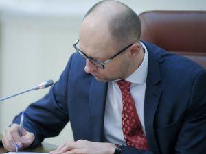 Ukrayna Başbakanı Yatsenük'ün istifası mecliste