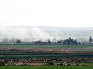 IŞİD Mevzileri Havadan ve Karadan Vuruldu