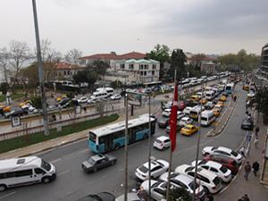 Vodafone Arena açılışı öncesinde yoğun trafik