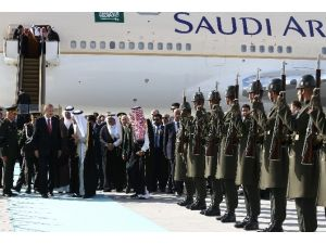 Suudi Kral Selman Bin Abdulaziz Ankara'da