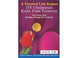 Lale Kupası tenis maçları yarın başlıyor