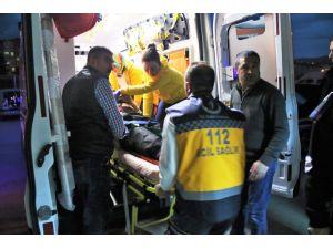 Kırşehir'de trafik kazasında 2 kişi yaralandı