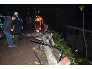 Zonguldak'ta otomobil adliye binası boşluğuna uçtu: 1 ölü